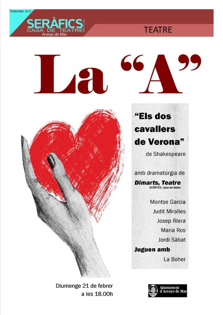 """La """"A"""" @ SERÀFICS"""